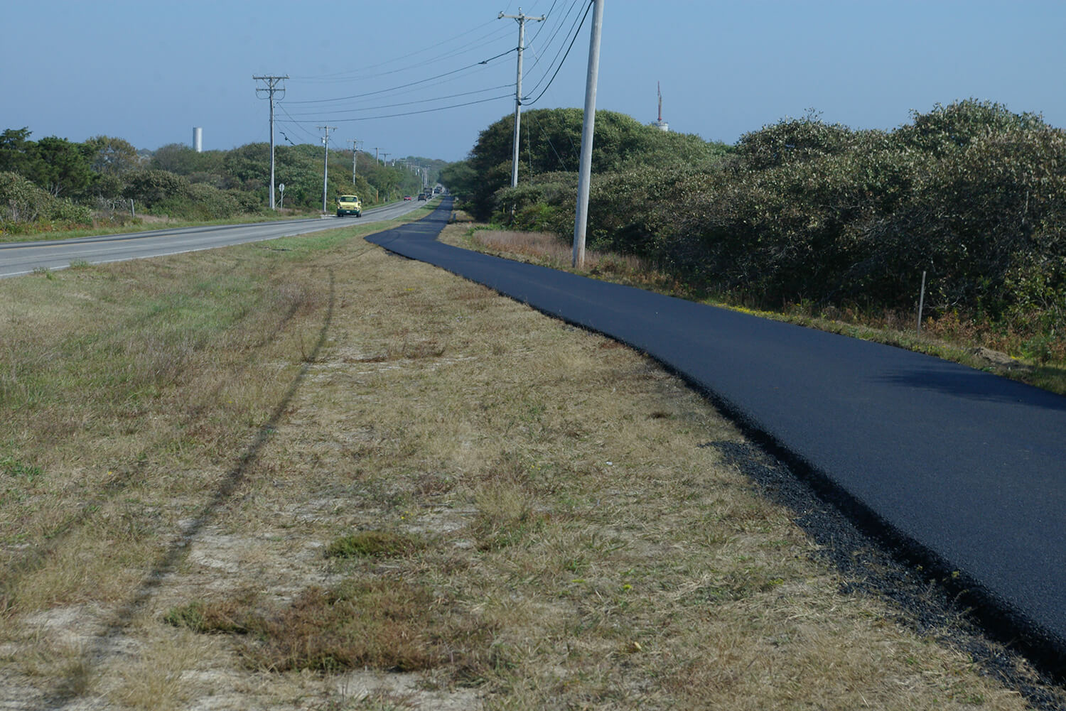 Bike Path Construction and Paving on Nantucket Island